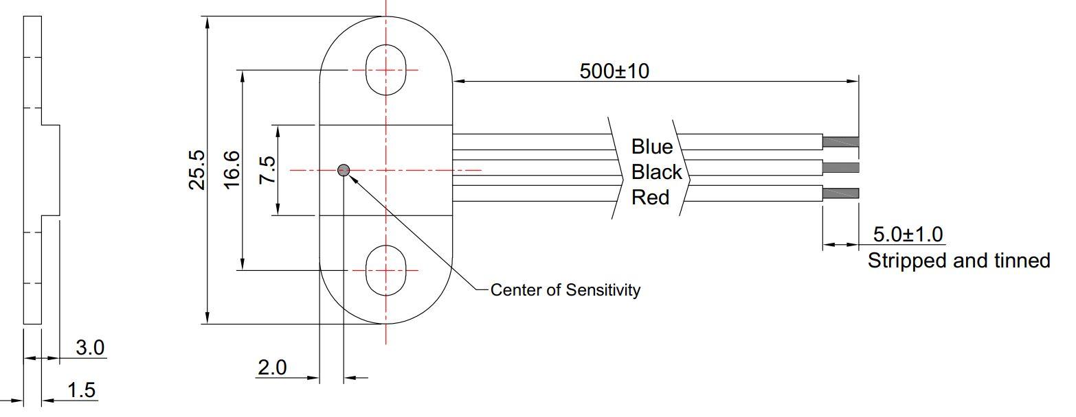 Hallsensor Unipolar Switch MHS-901 (3-Draht)
