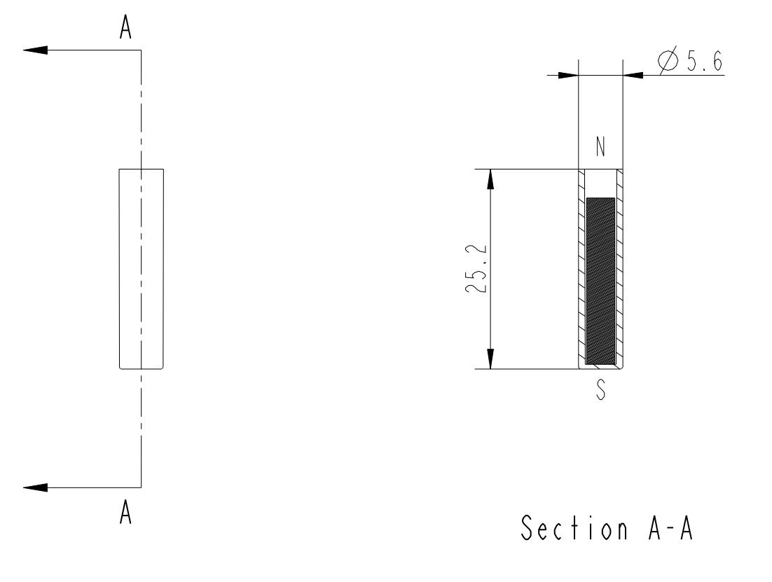 Magnet Tubular MMA-210